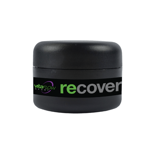 VitaFlow Sport repid recover cream,  organic, full spectrum hemp oil standardized to 200mg CBD in a 50 ml
