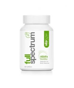 VitaFlow Sport Full Spectrum Hemp Extract 750 mg bottle